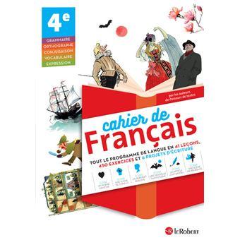 Cahier De Francais 4eme Cycle 4
