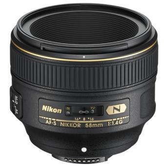 Objectif reflex Nikon AF-S NIKKOR 58MM F/1,4G