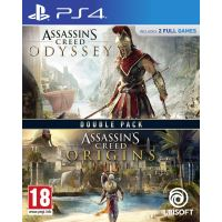Double Pack Assassin's Creed Odyssey + Assassin's Creed Origins PS4