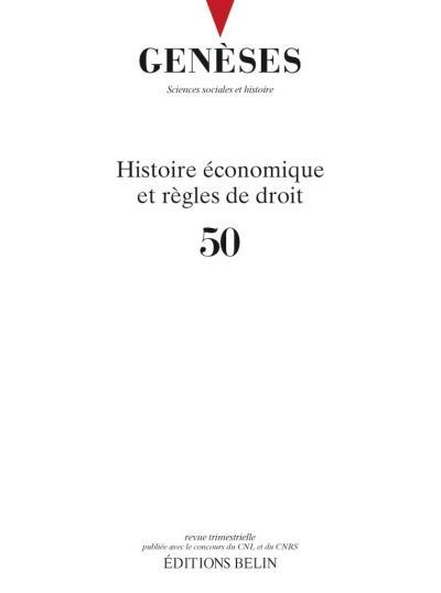 Histoire économique et contentieux judiciaire
