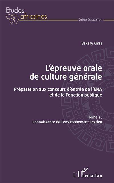 L'épreuve orale de culture générale