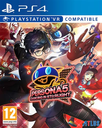 Persona 5 Dancing in Starlight Edition Day One PS4
