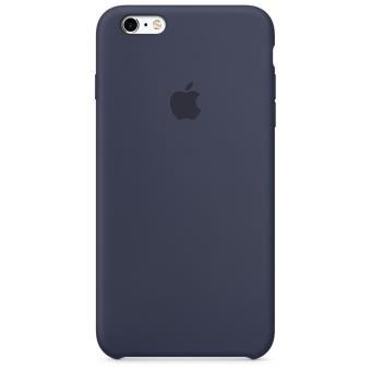 Coque Apple pour iPhone 6s en silicone Bleu Nuit