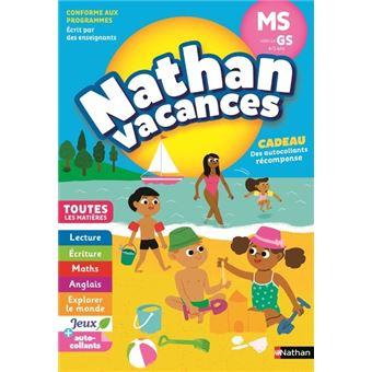 Cahier de Vacances 2018 Maternelle De la MS à la GS Toutes les matières