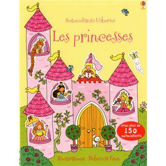 Les princesses - Autocollants Usborne