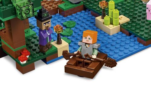 21133 Ma Sorcière Cabane De La Minecraft Lego® jLRA54