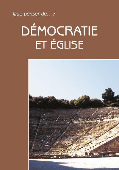 Démocratie et Eglise