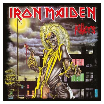 Iron Maiden Framed Canvas Print Killers