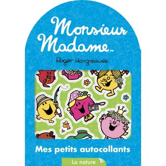 Monsieur MadameMes petits autocollants, La nature