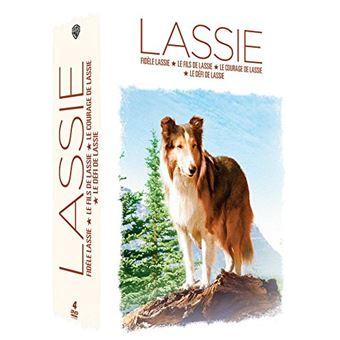 LassieCoffret Lassie 4 films DVD