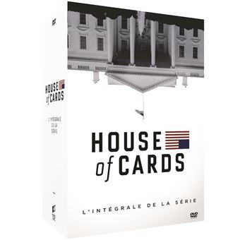 House of cardsCoffret House of Cards Saisons 1 à 6 DVD