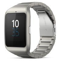 Montre connectée Sony SmartWatch 3 Bracelet Métal Argent