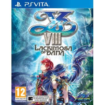 Ys Vlll Lacrimosa of DANA PS Vita