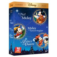 Coffret Mickey Les Intemporels 3 Films DVD