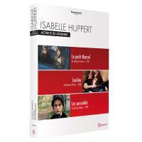 Coffret Isabelle Huppert Actrice de légende 3 films DVD