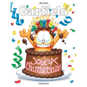 Garfield Hors Serie Joyeux Anniversaire Jim Davis Jim Davis