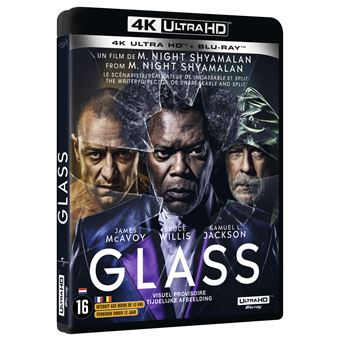 Glass Blu-ray 4K Ultra HD