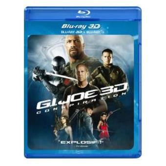 G.I. Joe 2 Conspiration Blu-ray 3D + Blu-ray 2D