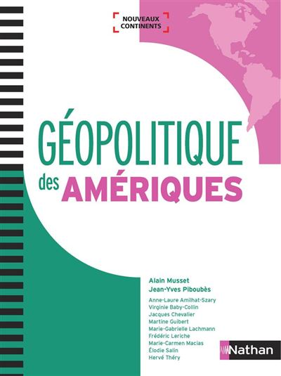 Géopolitique des Amériques - Format - EPub 3 - 9782098127319 - 27,99 €