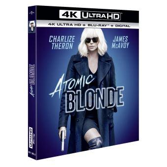 Atomic Blonde Blu-ray 4K Ultra HD