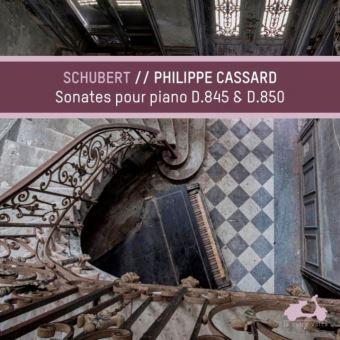 Schubert Piano Sonatas D845 et D850