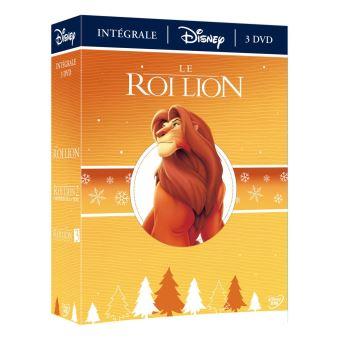 Le Roi lionCOFFRET DVD LE ROI LION 1/2/3 -VF