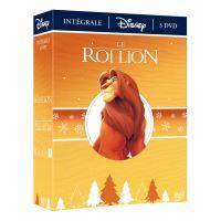 Coffret Le Roi Lion L'intégrale DVD