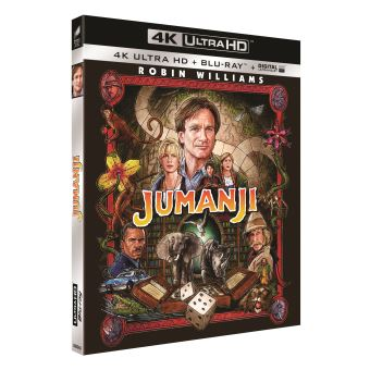 JumanjiJumanji Blu-ray 4K Ultra HD