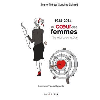 Au coeur des femmes (1944-2014). 70 années de conquêtes - Marie-Thérèse Sanchez-Schmid