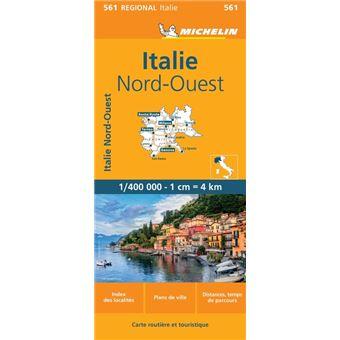 Carte Italie Nord Ouest Michelin Échelle 1:400 000   broché