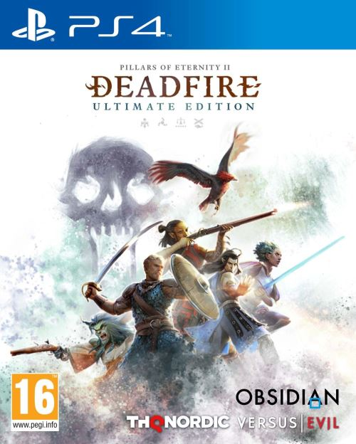 Pillars of Eternity 2 Deadfire Ultimate Edition PS4