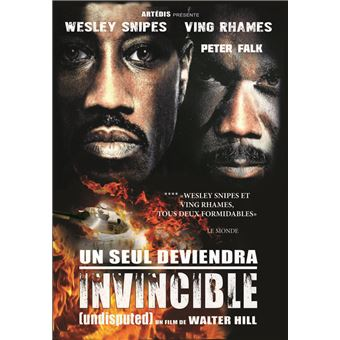 Un seul deviendra invincible DVD