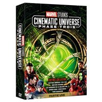 Coffret Marvel Studios Cinematic Universe Phase 3 Partie 1 DVD
