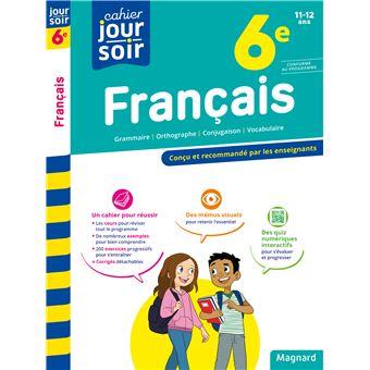 Cahier Du Jour Cahier Du Soir Francais 6e