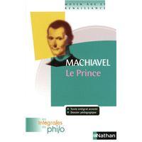 Int phil 10 machiavel Le Prince