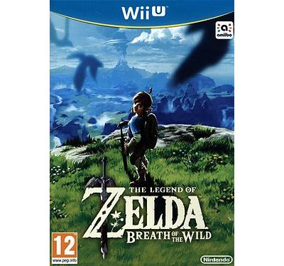 The Legend of Zelda : Breath of the Wild Wii U