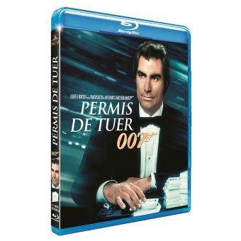James BondPermis de tuer Blu-ray