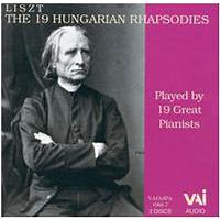 19 hungarian rhapsodies playedby 19 great pianist