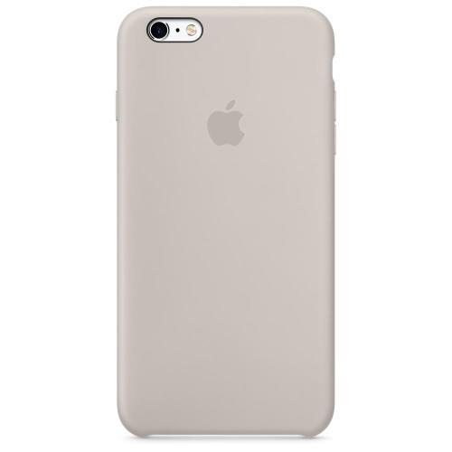 Coque Apple pour iPhone 6s en silicone Gris Sable