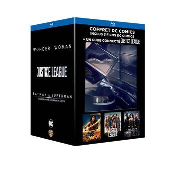 DC animatedCoffret DC Comics 3 films Blu-ray