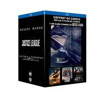 Coffret DC Comics 3 films Blu-ray