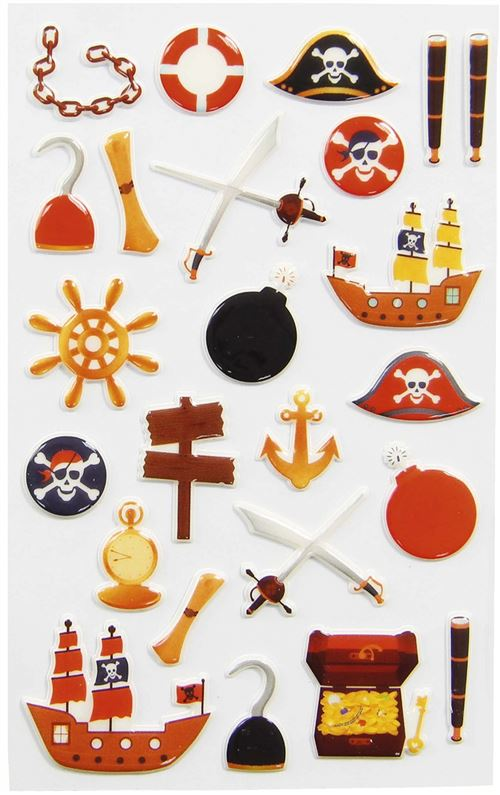 Stickers Maildor Cooky Pirates