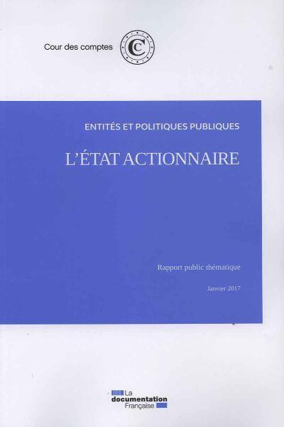 L'Etat actionnaire