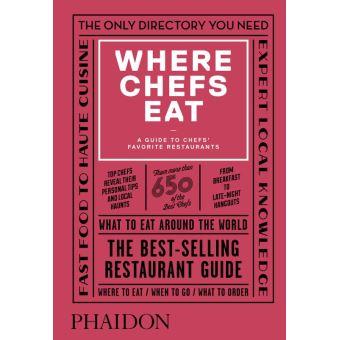 WHERE CHEFS EAT