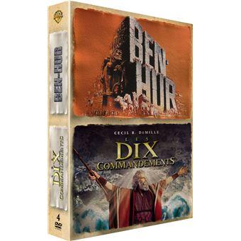 Coffret Ben-Hur + Les dix commandements DVD Edition spéciale Fnac