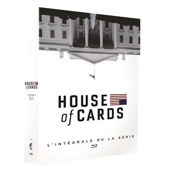House of cardsCoffret House of Cards Saisons 1 à 6 Blu-ray
