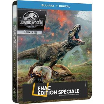 Jurassic ParkJurassic World : Fallen Kingdom Steelbook Edition Fnac Blu-ray