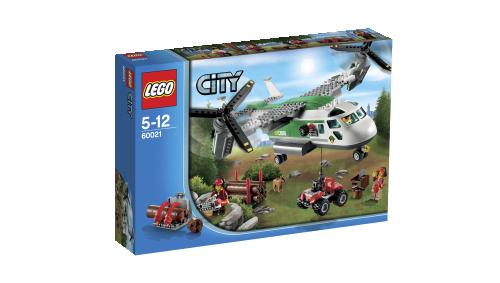 LEGO® City 60021 L'avion cargo