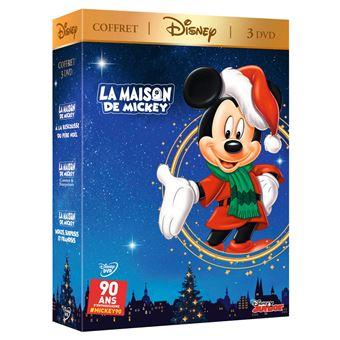 La Maison de MickeyCoffret La Maison de Mickey Spécial Noël 3 Films DVD