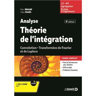 Analyse, théorie de l'intégration